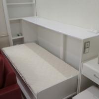 Одноместная кровать трансформер в виде комода